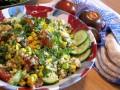 sałatka z kukurydzą przepis video, jak zrobić sałatkę z kukurydzą, przepis na sałatkę z kukurydzą